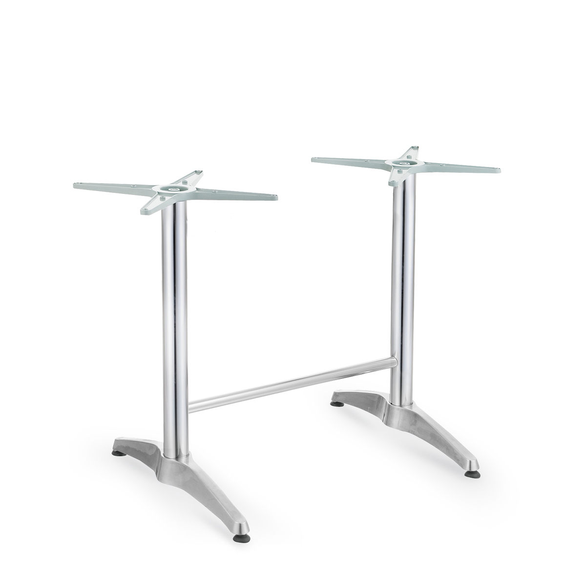 Atb 003 aluminium dining base tabletops furniture for Table exterieur aluminium anodise