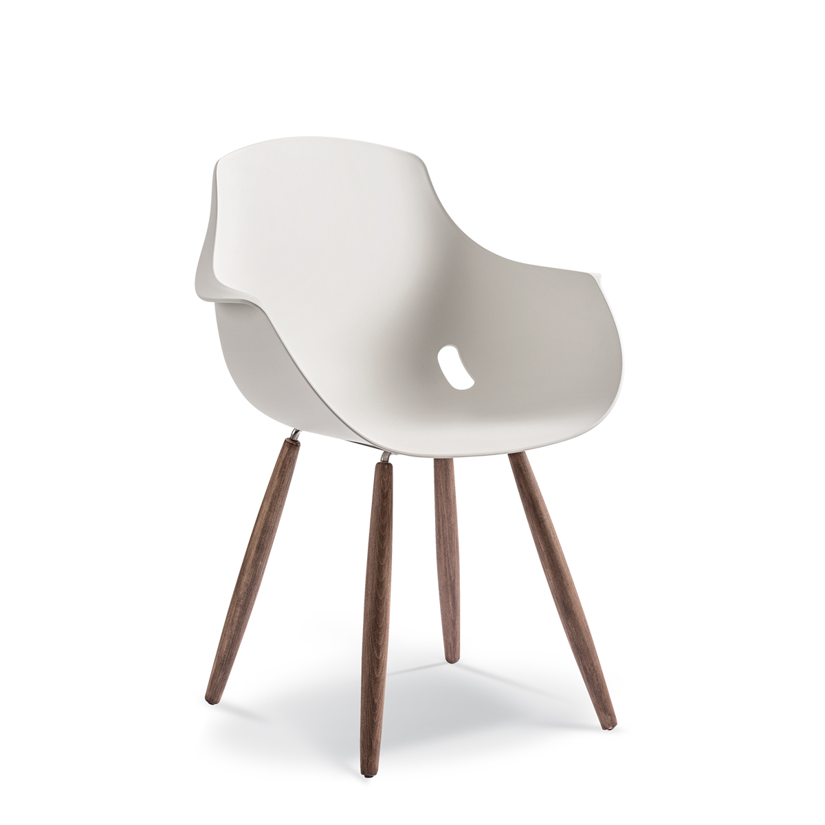 GLOBE ARMCHAIR TIMBER LEGS