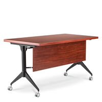 EASY TRAINING TABLE WITH MODESTY PANEL