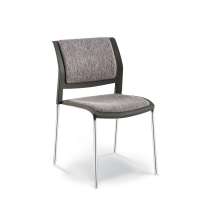 CONNECT CHAIR 4 LEG UPHOLSTERED SEAT & BACK
