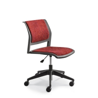 CONNECT SWIVEL Upholstered seat & back