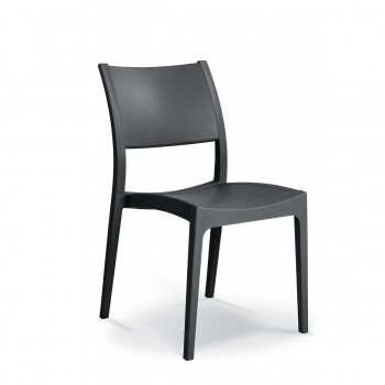 ENJOY Chair Solid - Enjoy chair solid charcoal